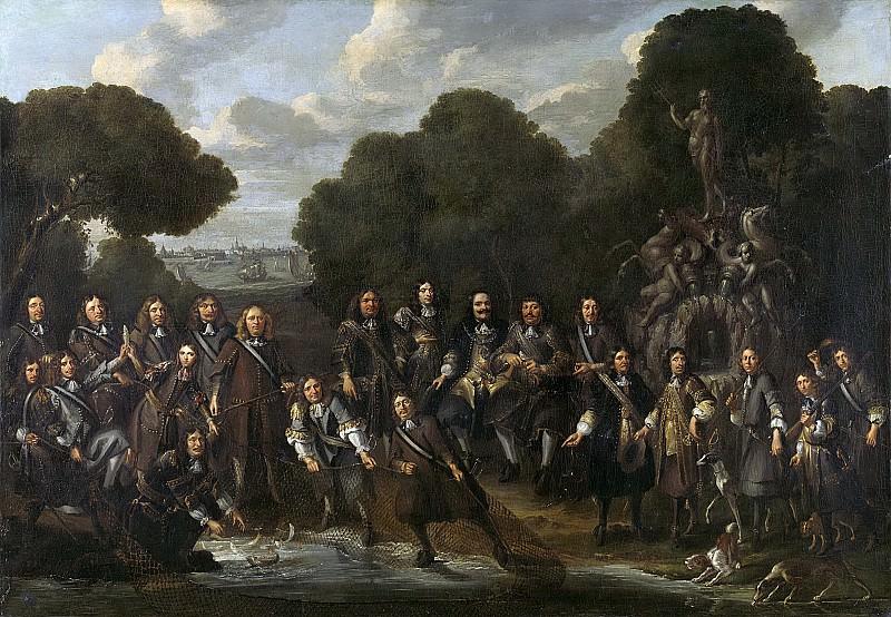 Eversdijck, Willem -- Allegorie op de bloei van de Nederlandse visserij na de Tweede Engelse Zeeoorlog (1665-67), 1667-1671. Rijksmuseum: part 4