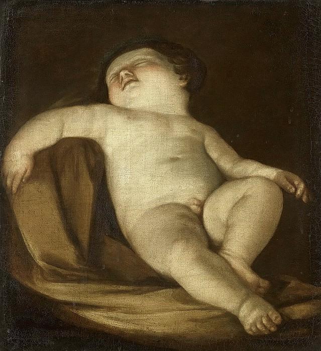 Гвидо Рени -- Спящий путто, 1627-1700. Рейксмузеум: часть 4