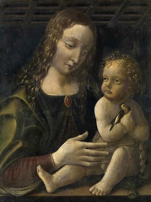 Франческо Наполетано -- Мария с Младенцем, 1490-1510. Рейксмузеум: часть 4