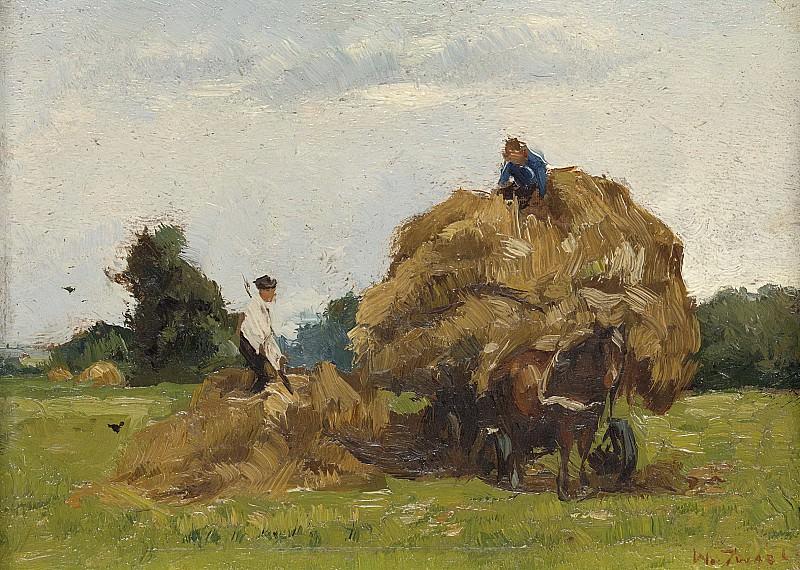 Zwart, Willem de -- Hooiwagen, 1885-1931. Rijksmuseum: part 4