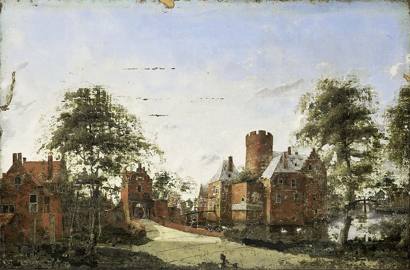 Heyden, Jan van der -- Kasteel Loenersloot aan de Angstel, 1650-1750. Rijksmuseum: part 4