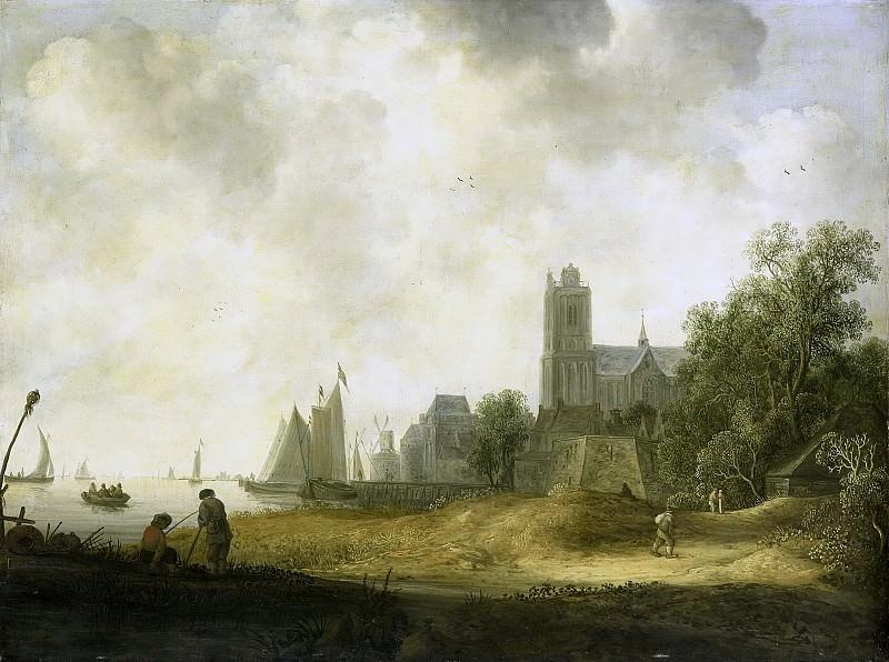 Knijff, Wouter -- Gezicht op Dordrecht, 1643. Rijksmuseum: part 4