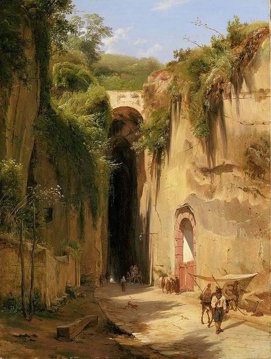 Антони Сминк Питлоо -- Грот Посиллипо у Неаполя, 1826. Рейксмузеум: часть 4