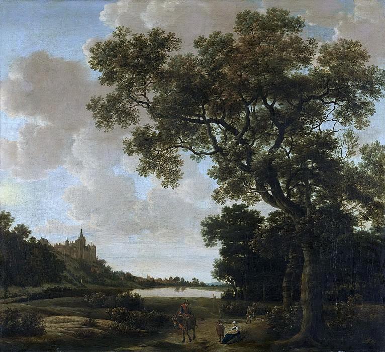 Haagen, Joris van der -- Landschap met de Zwanenburcht te Kleef, 1640-1669. Rijksmuseum: part 4