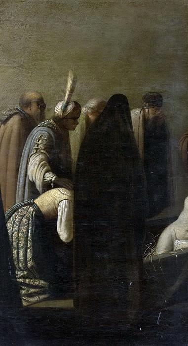 Rembrandt Harmensz. van Rijn -- De opwekking van Lazarus, 1620-1650. Rijksmuseum: part 4