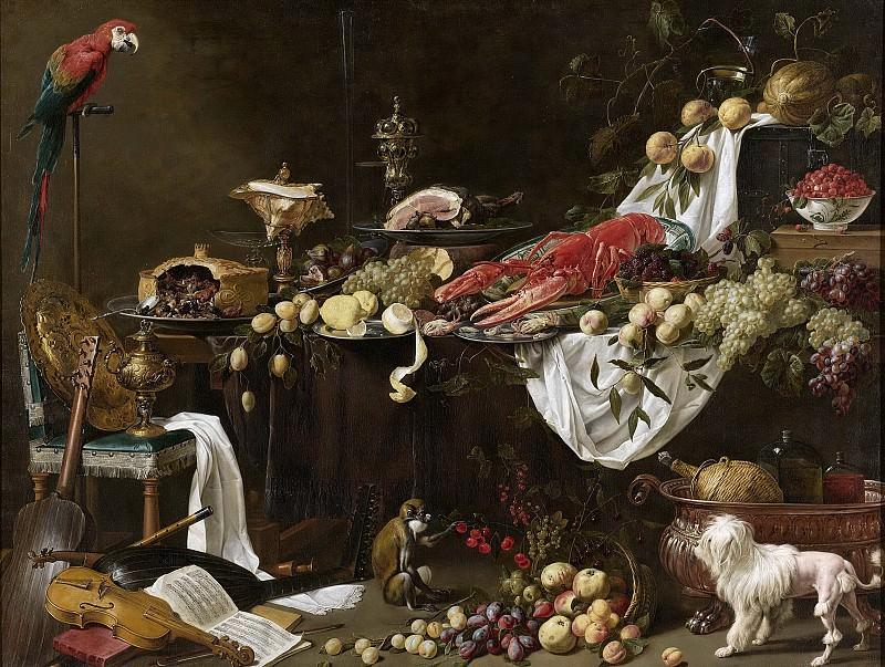 Utrecht, Adriaen van -- Stilleven, 1644. Rijksmuseum: part 4