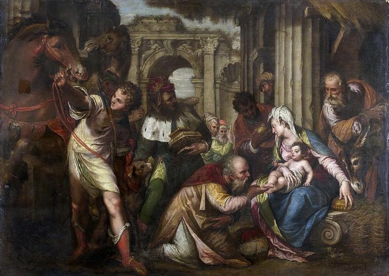 Farinati, Paolo -- De aanbidding der koningen, 1585. Rijksmuseum: part 4