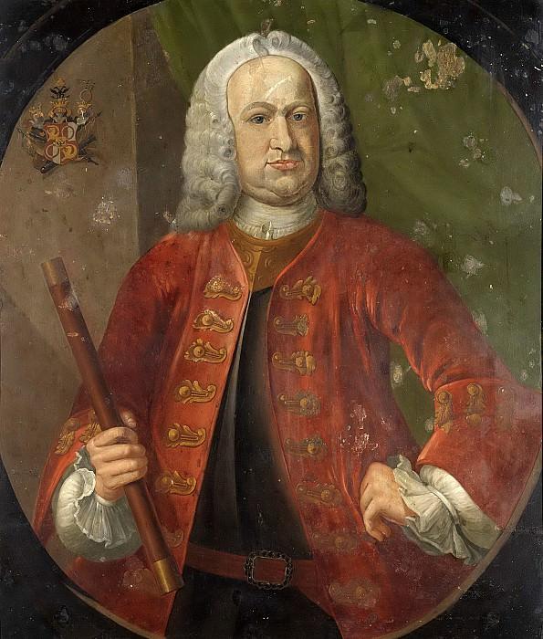 Unknown artist -- Gustaaf Willem Baron van Imhoff (1705-50). Gouverneur-generaal (1743-50), 1742-1750. Rijksmuseum: part 4