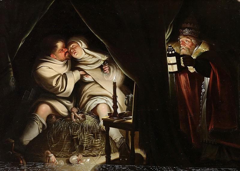 Низвестный художник -- Сатира на обет безбрачия, 1600-1649. Рейксмузеум: часть 4