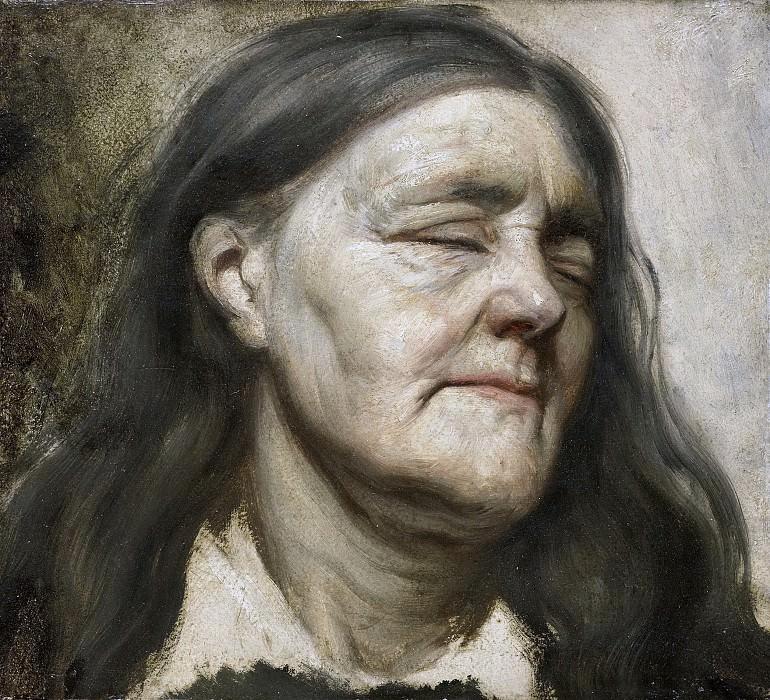 Maris, Matthijs -- Studie van een oude vrouw, 1855-1858. Rijksmuseum: part 4