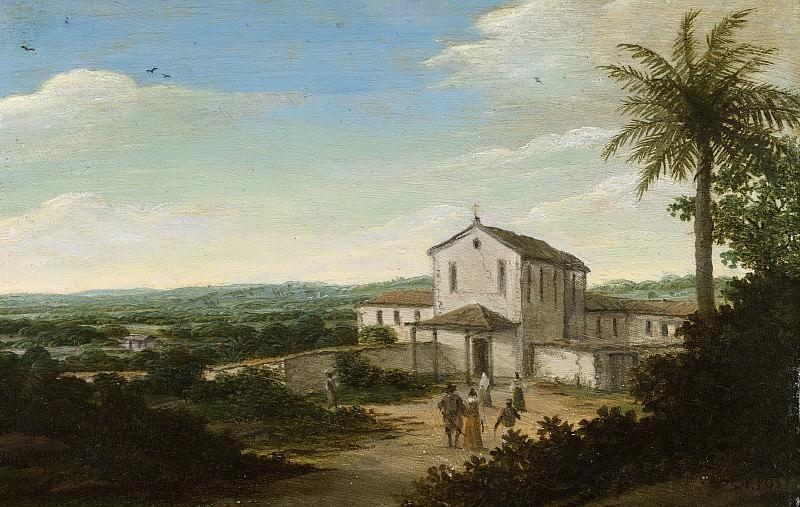 Франс Янс Пост -- Дом голландского колониста в Бразилии, 1644-1680. Рейксмузеум: часть 4