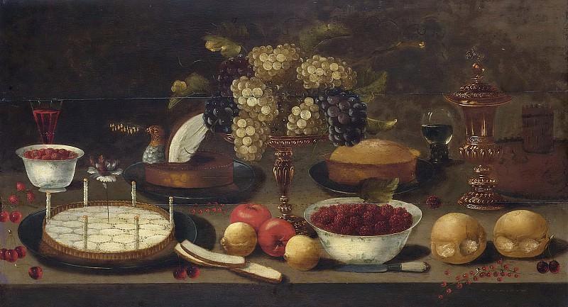 Осиас Беерт -- Натюрморт, 1600-1650. Рейксмузеум: часть 4