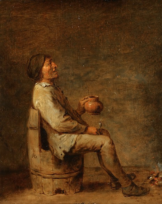 Адриан Броувер -- Пьяница, 1620-1700. Рейксмузеум: часть 4