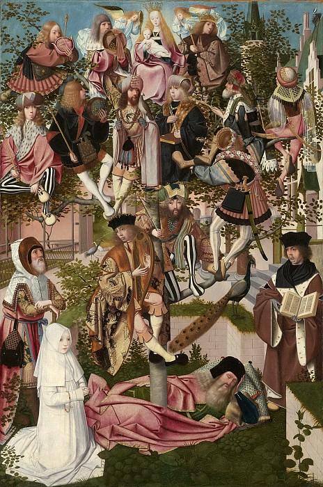 Geertgen tot Sint Jans -- De boom van Jesse, 1500. Rijksmuseum: part 4