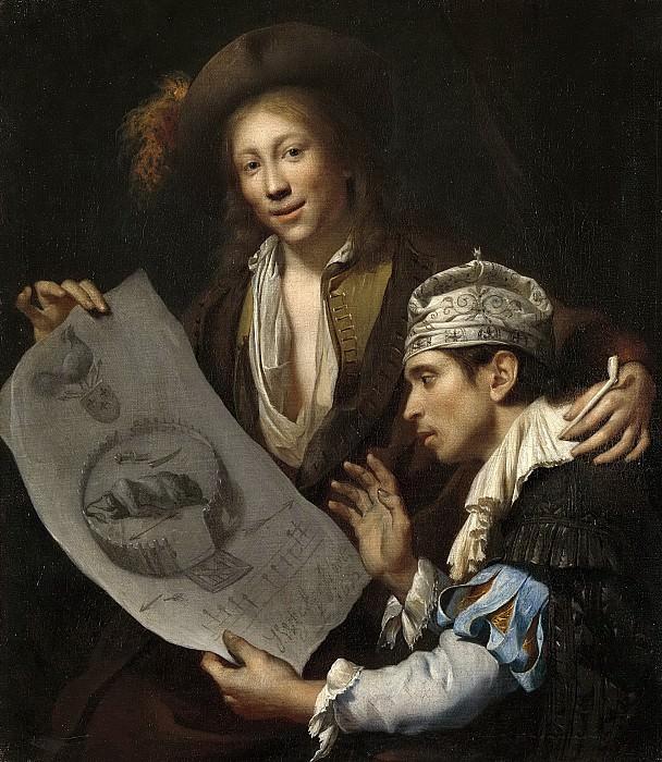 Wijckersloot, Johannes van -- Allegorie op de Franse invasie in de Nederlanden in 1672, 1672. Rijksmuseum: part 4