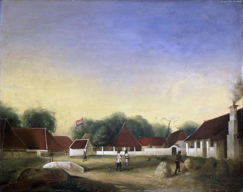 Hesselaar, H.Th. -- Suikerfabriek (?) op Java, 1849. Rijksmuseum: part 4