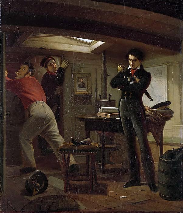 Schoemaker Doyer, Jacobus -- Jan van Speijk overlegt of hij de lont in het kruit zal steken, 5 februari 1831, 1834. Rijksmuseum: part 4