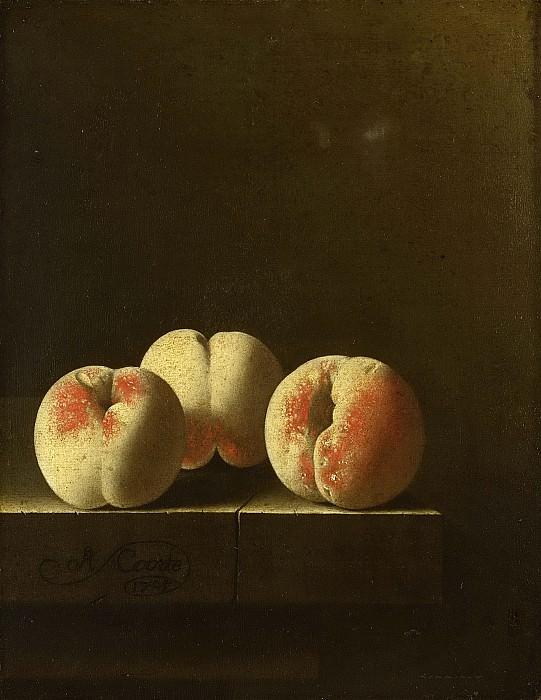 Адриан Корте -- Проверка зрелости земляники на каменной полке, 1705. Рейксмузеум: часть 4