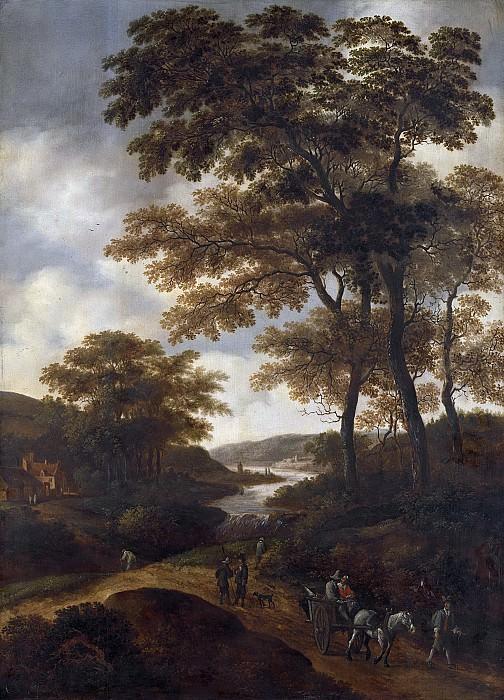 Питер Янс ван Асх -- Лесистая местность, 1640-1678. Рейксмузеум: часть 4