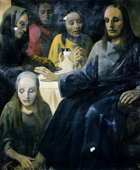 Meegeren, Han van -- De voetwassing, 1935-1943. Rijksmuseum: part 4