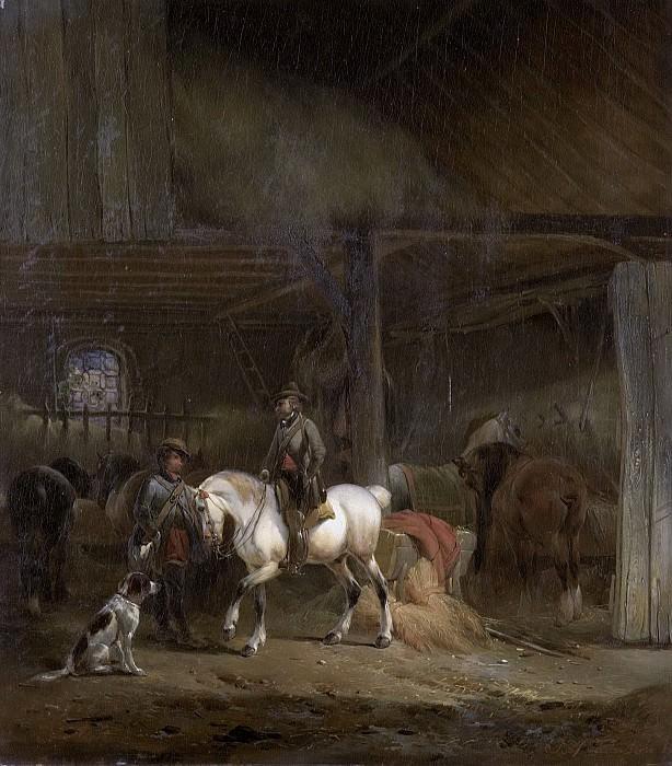 Moerenhout, Joseph -- Paardenstal, 1830-1840. Rijksmuseum: part 4