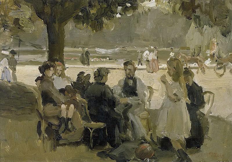 Israels, Isaac -- In het Bois de Boulogne bij Parijs, 1906. Rijksmuseum: part 4