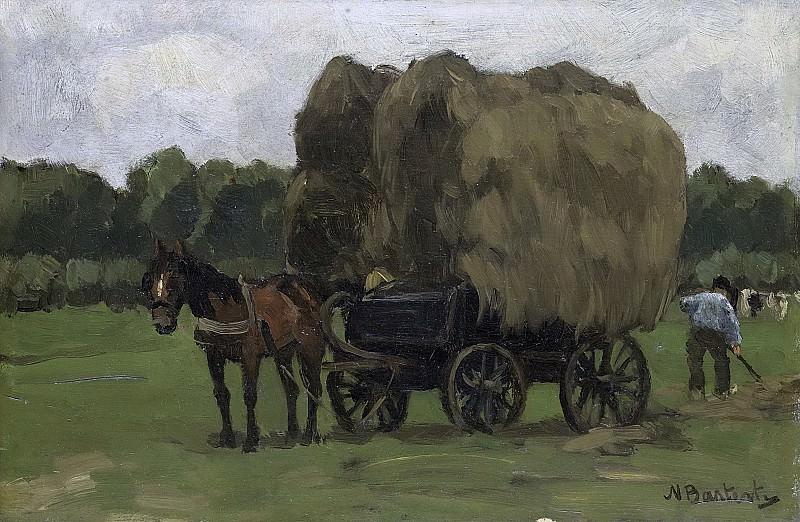 Николас Бастерт -- Телега с сеном, 1870-1939. Рейксмузеум: часть 4