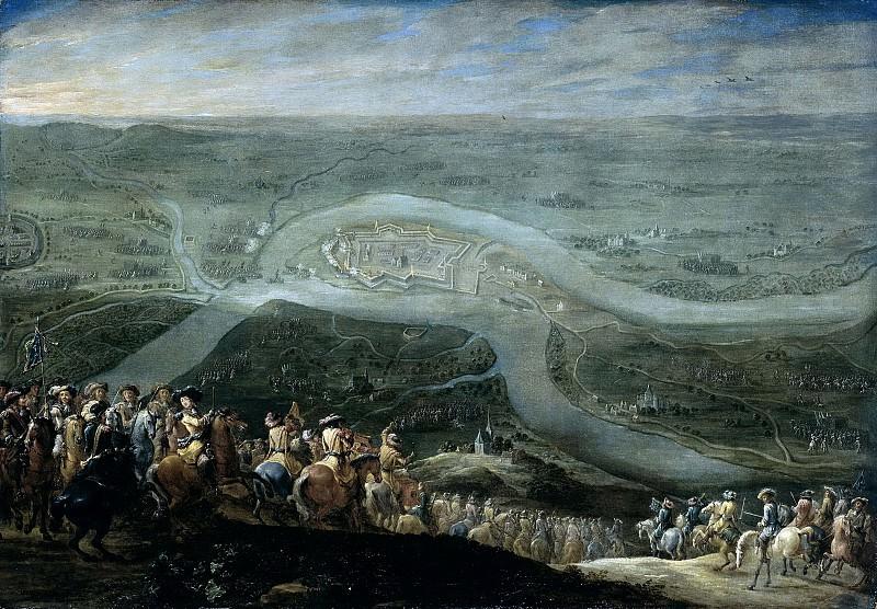 Hondt, Lambert de (II) -- De troepen van Lodewijk XIV voor Schenkenschans, 18 juni 1672, 1672-1679. Rijksmuseum: part 4