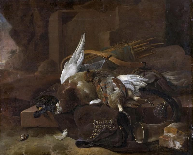 Hondecoeter, Melchior d -- Jachtbuit, 1660-1695. Rijksmuseum: part 4