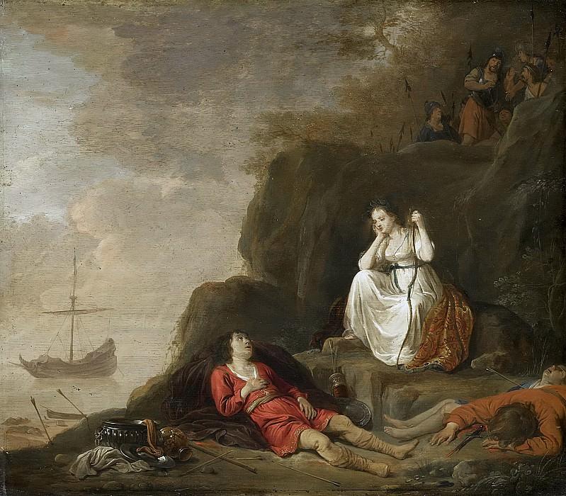 Thivart, Daniël -- Theagenes en Chariklea, 1625-1640. Rijksmuseum: part 4