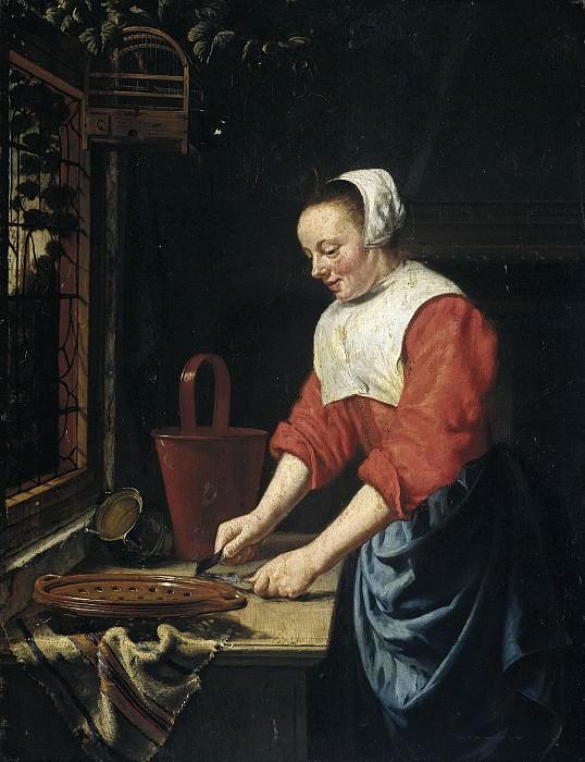 Odekercken, Willem van -- De dienstmaagd, 1631-1677. Rijksmuseum: part 4