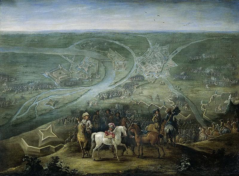 Ламберт де Хондт (II) -- Осада Рейнберга благодаря французам 6 июня 1672 года, 1672-1679. Рейксмузеум: часть 4