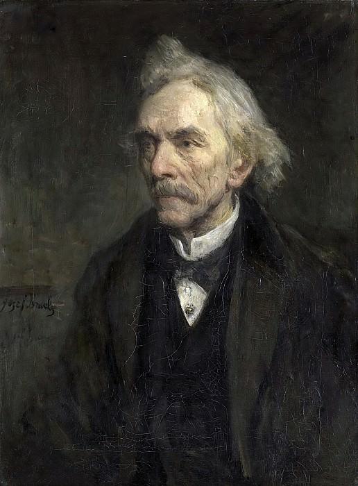 Исраэлс, Йосеф -- Луис Жак Вельтман (1817-1907), театральный актер, 1893. Рейксмузеум: часть 4