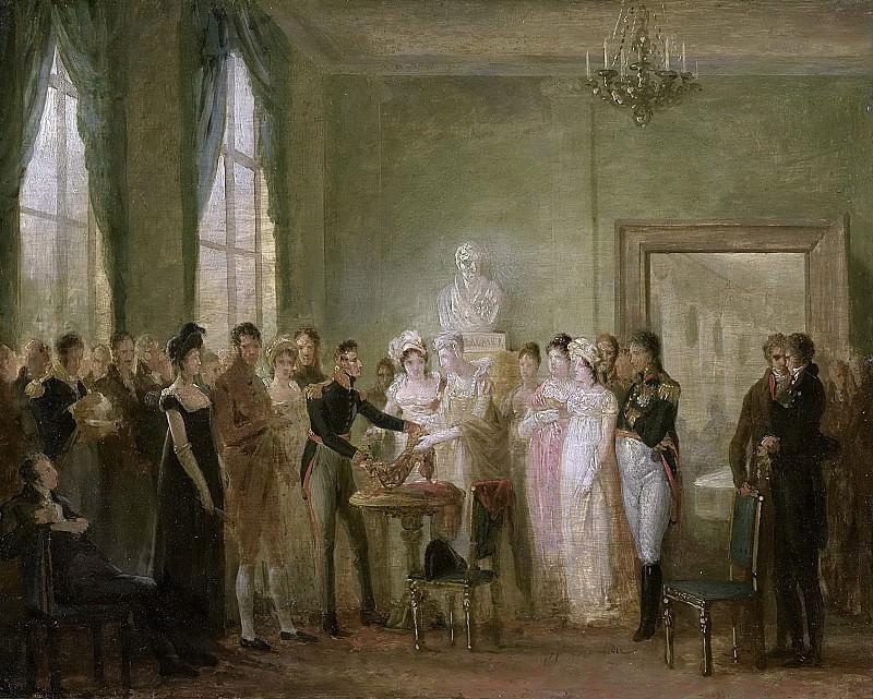 Bree, Mattheus Ignatius van -- Ongeïdentificeerde historische voorstelling., 1815-1830. Rijksmuseum: part 4