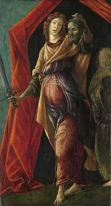 Judith with the Head of Holofernes. Alessandro Botticelli