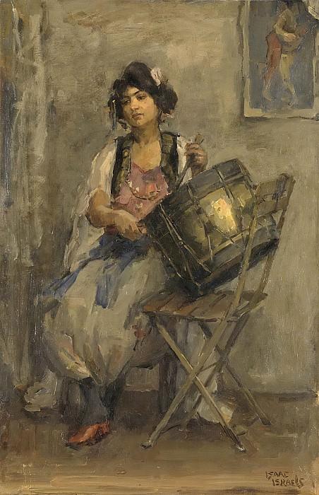 Israels, Isaac -- De trommelaarster, 1890-1910. Rijksmuseum: part 4