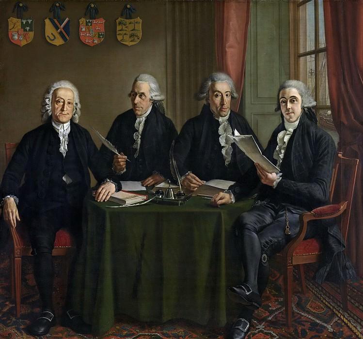 Hendriks, Wybrand -- De vier oppercommissarissen der Walen te Amsterdam, 1791-1795. Rijksmuseum: part 4