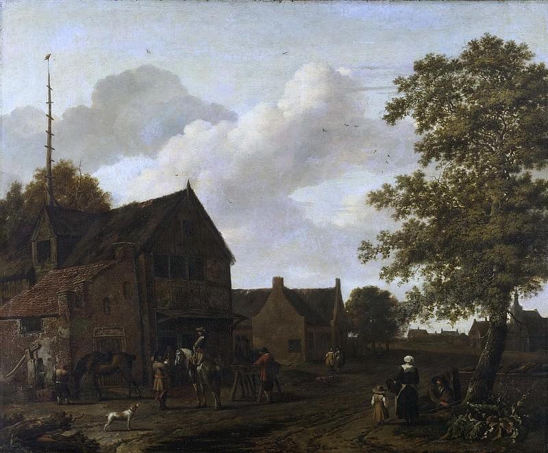 Эмануель Мурант -- Место для работы штукатура, 1650-1700. Рейксмузеум: часть 4
