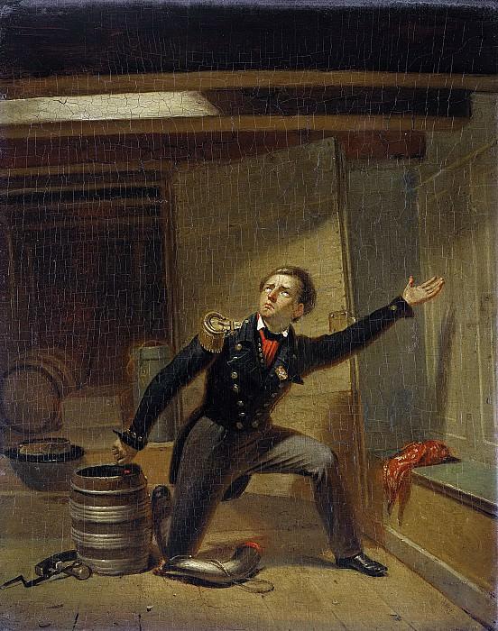 Schoemaker Doyer, Jacobus -- Jan van Speijk steekt de lont in het kruit, 5 februari 1831, 1831-1850. Rijksmuseum: part 4