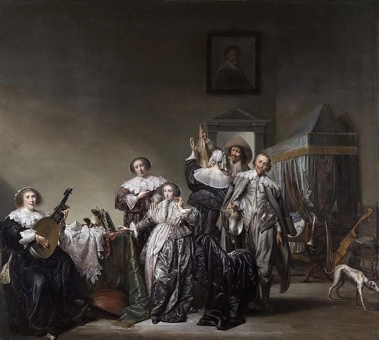 Codde, Pieter -- Galante dames en heren, 1633. Rijksmuseum: part 4