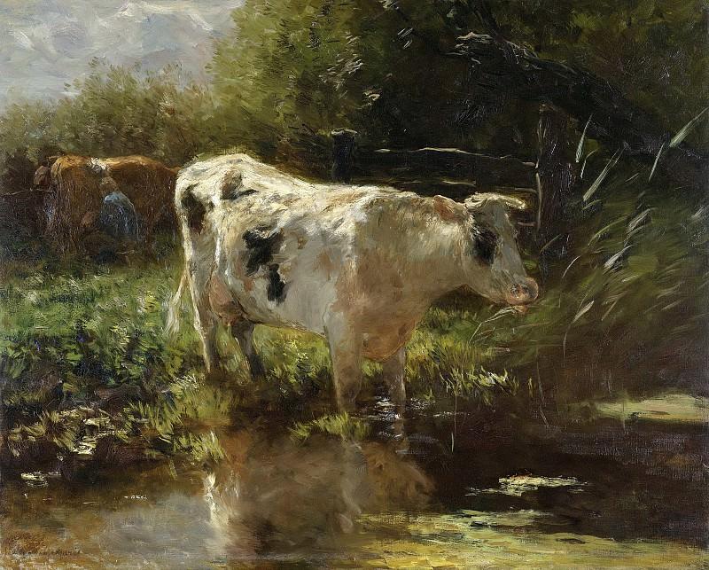 Maris, Willem -- Koe aan de slootkant, 1885-1895. Rijksmuseum: part 4