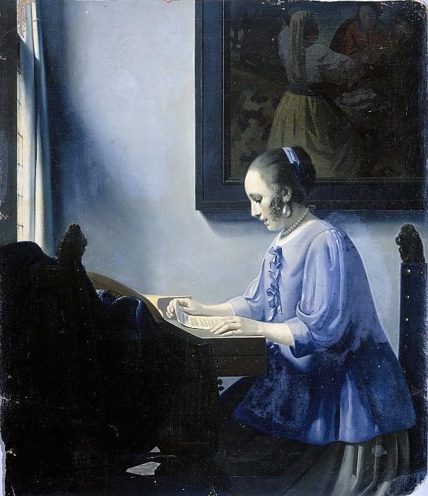 Хан ван Мегерен -- Женщина, читающая письмо, 1935-1940. Рейксмузеум: часть 4