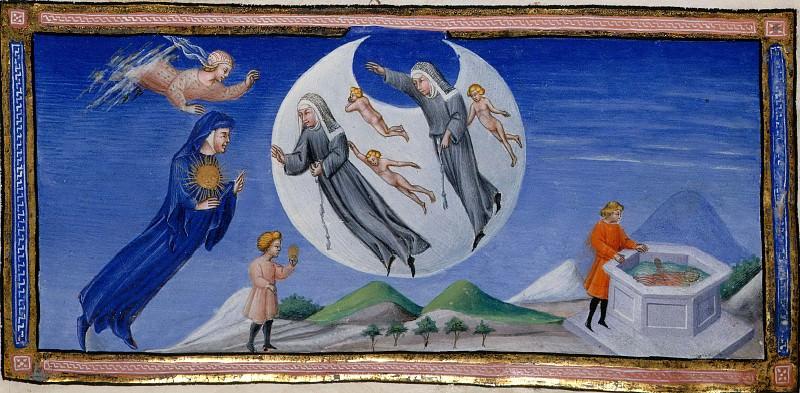 133 Данте встречает души Пиккарды и королевы Констанции. Божественная комедия
