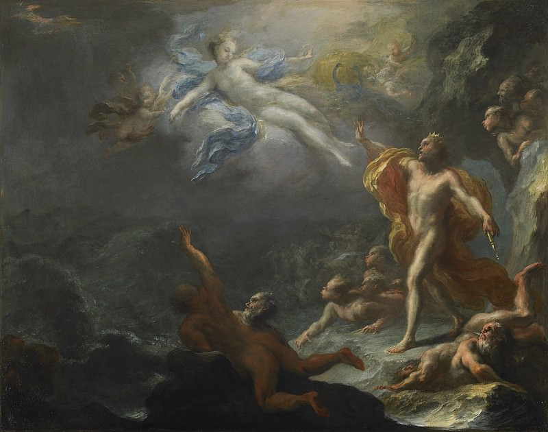 Giacomo Del PГІ Juno and Aeolus 27794 203. часть 2 -- European art Европейская живопись