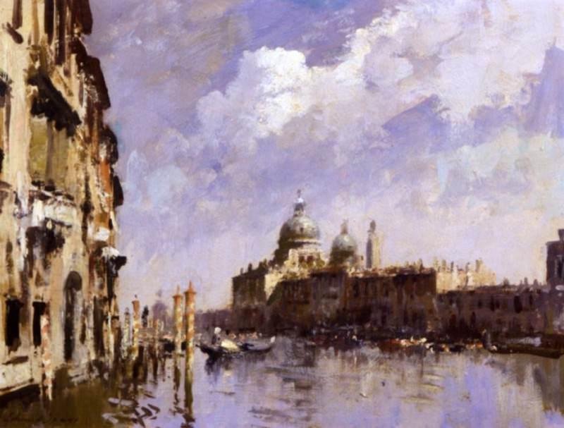 Edward Seago The Grand Canal Venice 17782 172. часть 2 -- European art Европейская живопись