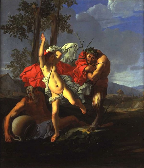 Giulio Carpioni Pan and Syrinx 16858 203. часть 2 -- European art Европейская живопись
