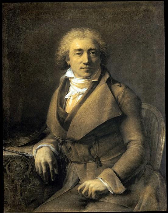 Gerard van Spaendonck Self Portrait seated at a Table turned to the right 33029 172. часть 2 -- European art Европейская живопись