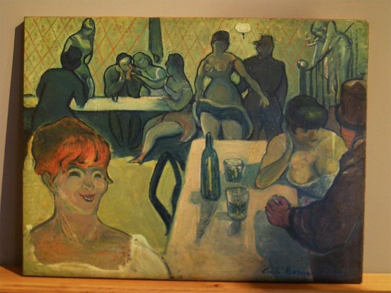Emile BERNARD Labsinthe. часть 2 -- European art Европейская живопись