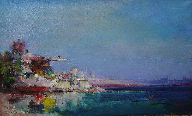 Henri Duvieux Constantinople 39925 3306. часть 2 -- European art Европейская живопись