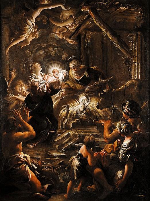 Domenico Piola Nativity 16232 203. часть 2 -- European art Европейская живопись